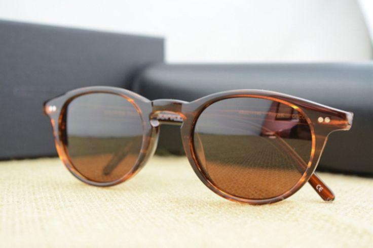 27.60$  Buy here - http://aiuyo.worlditems.win/all/product.php?id=32530014390 - Riley-K Retro Designer Sunglasses Men Round Sunglasses men Oliver Peoples Brand sunglasses Women Sun Glasses Oculos de sol