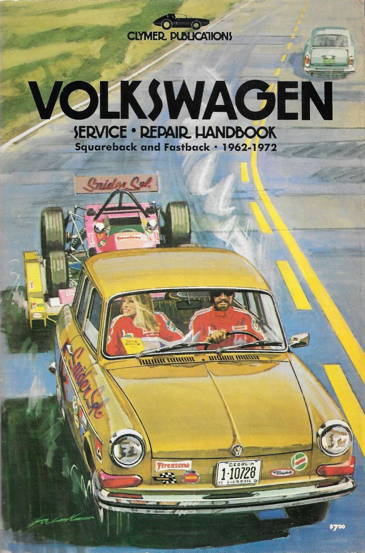 1962 1972 volkswagen service repair handbook squareback fastback by shopdadscollection on etsy