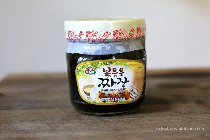 Essential Korean Cooking Ingredients: Korean Black Bean Paste (Chunjang) | MyKoreanKitchen.com