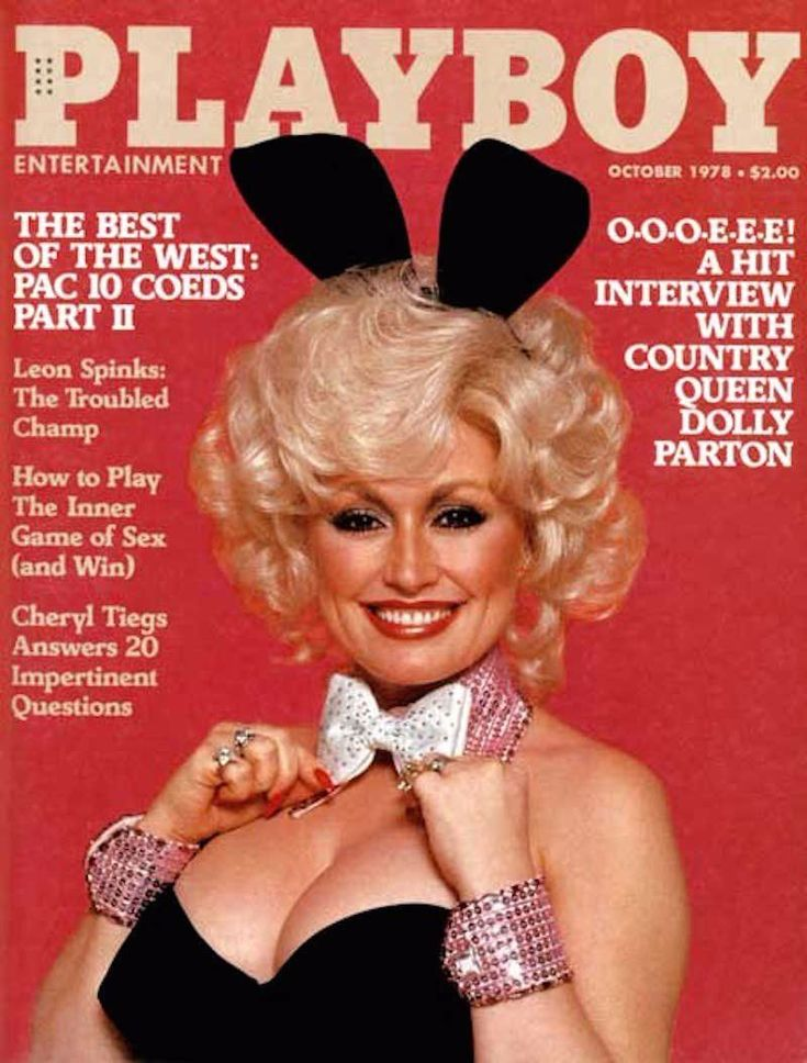 In 1978, Dolly Parton Becomes the First Country Singer to Pose for Playboy