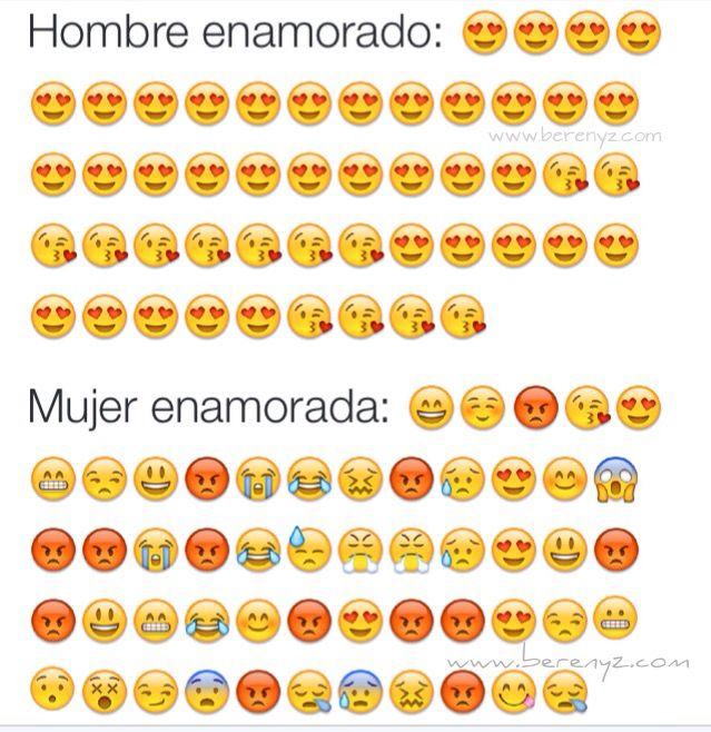 #mujerenamorada vs hombre enamorado