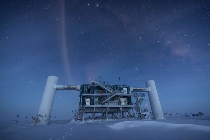 New measurements of neutrino oscillations, observed at the IceCube Neutrino Observatory at the South Pole, have shed light on outstanding questions regarding fundamental properties of neutrinos. The findings could help fill key gaps in the Standard Model, the theory that describes the behavior of fundamental particles at every energy scale scientists have been able to measure.