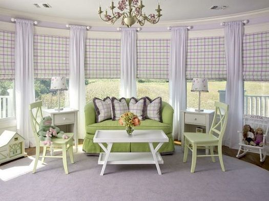 15 Must-see Bow Window Treatments Pins | Bay window blinds, Bay ...