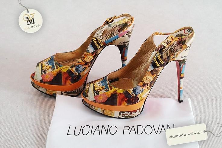 VIA MODA - buty Luciano Padovan