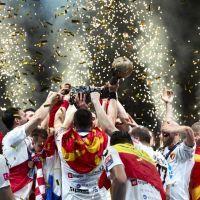 European Handball Federation - Cupic's last second goal propels HC Vardar to handball's cloud nine / Article