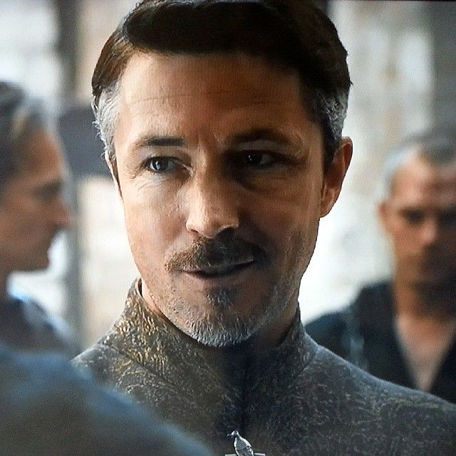 "Petyr Baelish, Game of Thrones, season 6. Ohhh, how hot he was when he said ""We both peddle fantasies, brother Lancel. Mine just happen to be entertaining"". ;-)"