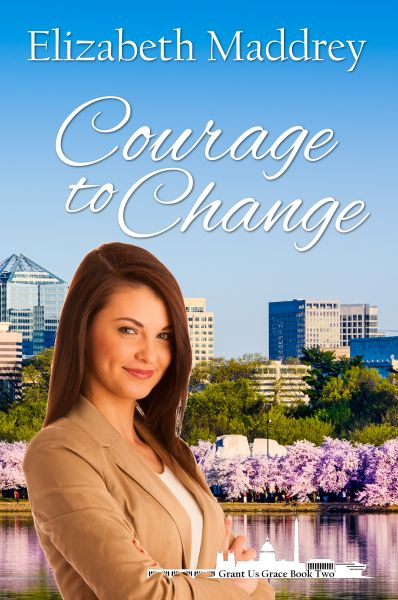New covers for re-releases of the first two books in the Grant us Grace series by Elizabeth Maddrey