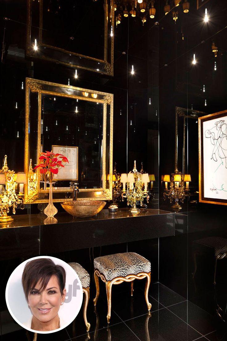44 best powder room images on pinterest bathroom ideas black