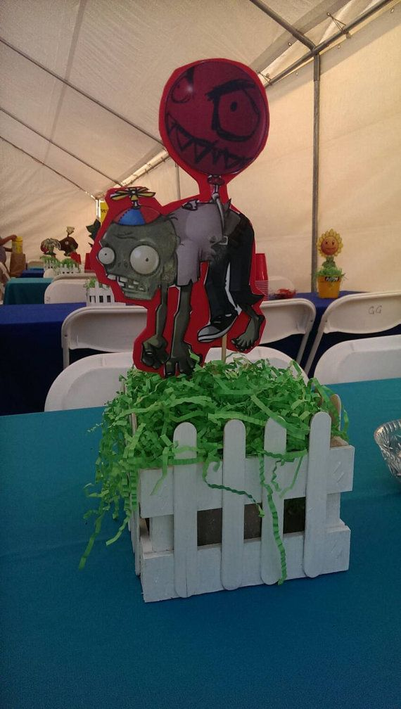 Plants vs. Zombies centerpiece