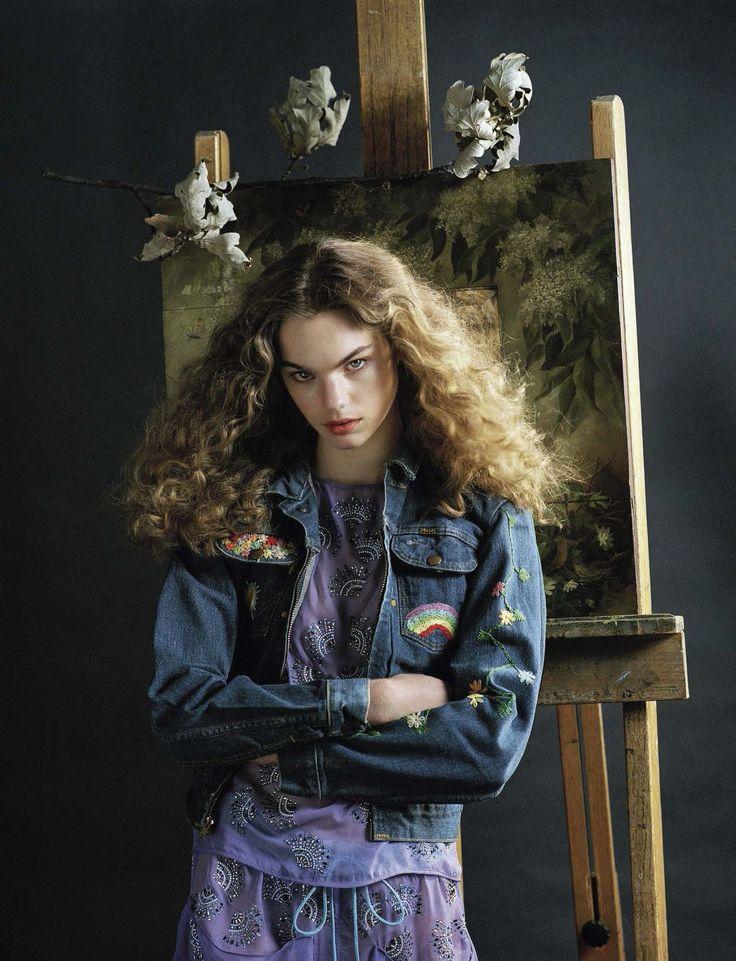 WASD — Publication: Vogue Italia January 2017 Model:...