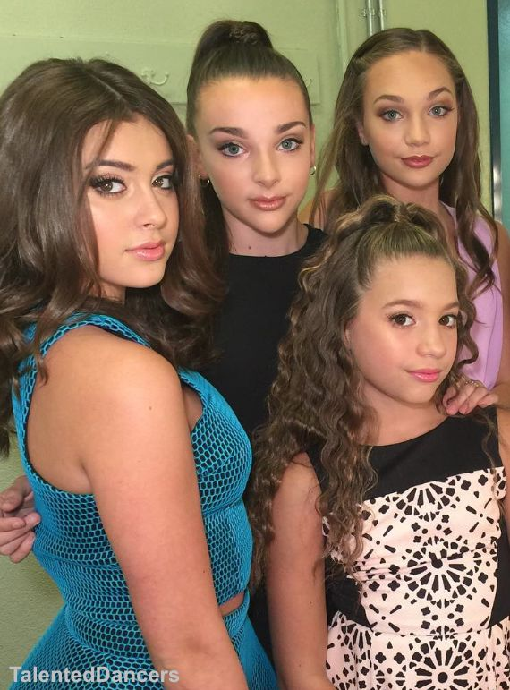 My only favourite people on dance moms 1st:Kalani 2nd:Maddie 3rd:Kendall 4th:Kenzie (my opinion) ❤️