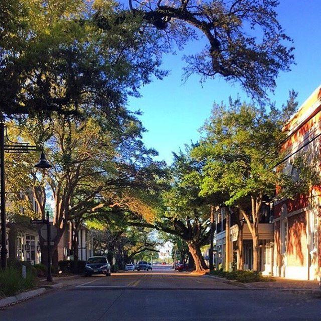 Gorgeous day for a stroll through downtown Ocean Springs, Mississippi #MSCoastLife