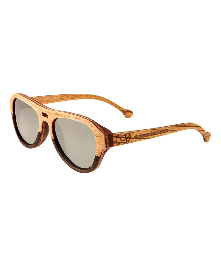 Look what I found on #zulily! Bamboo & Ebony Wood Clearwater Sunglasses by EARTH wood watches #zulilyfinds