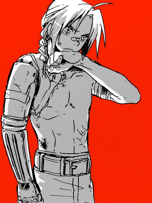 Edward Elric <- apparently. I don't know this series. I just like the drawing.