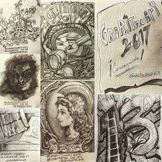 HenArte & TIC's: Graphitnuary 2017 ¡Reto cumplido!