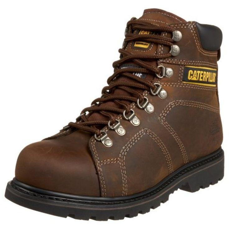 Caterpillar Men's Endure 6″ Superduty Waterproof Steel Toe Boot,Black,9 M US