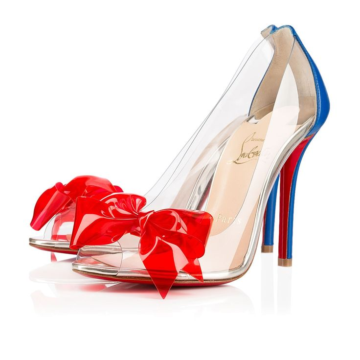 christian louboutin patent leather bow sandals