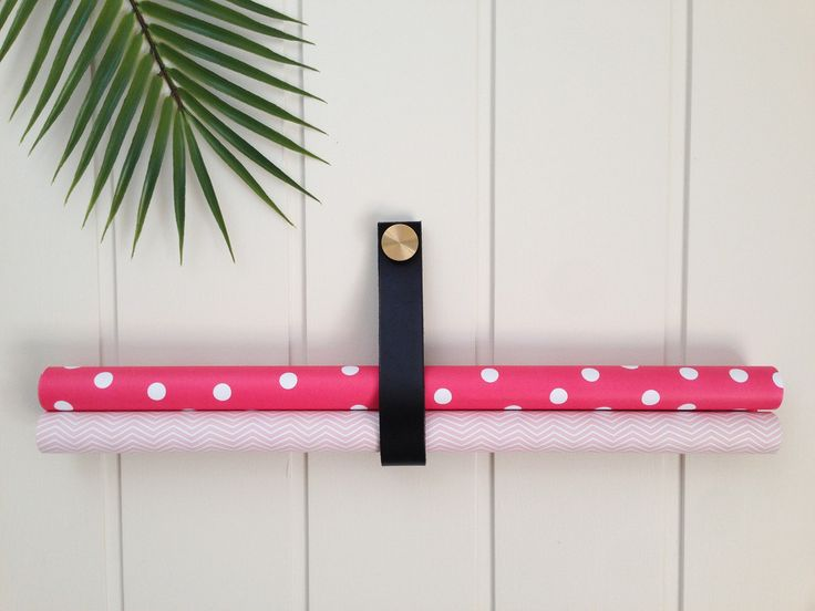 Polka Dot + Chevron Double Sided Wrapping Paper.