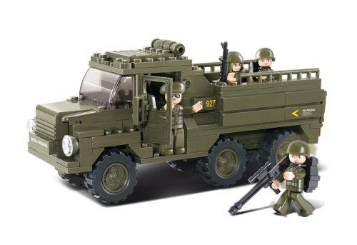 Sluban fra SBDanmark er et godt alternativ til de dyre klodser og er fuld ud kompatibel med mærker som f.eks Lego. Militær transporter lastbil http://www.sbdanmark.dk/index.php/army/army-2/sluban-trooptransporter-m38-b0301