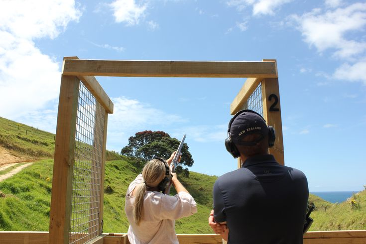 Aim, fire and experience the thrill of claybird shooting ...