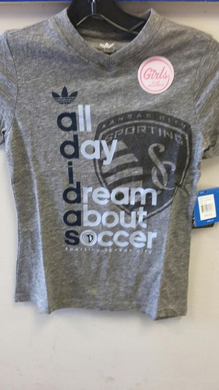 Sporting Kansas City Girls All Day I Dream About Soccer Tri Blend T-Shirt by adidas