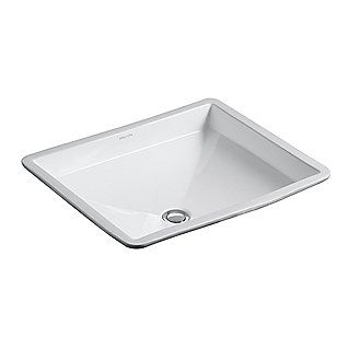 Kallista: Original by Barbara Barry Basin For Him Undercounter Basin with Overflow: P72027-WO