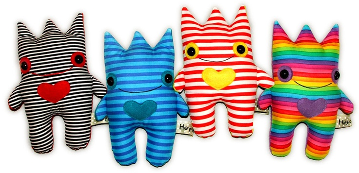 Little monster dolls.