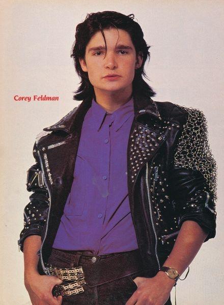 Corey Feldman!!! I loved this guy too!!!