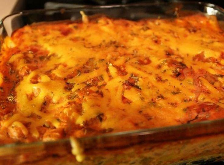 Beef and Bean Enchilada casserole | Recipes | Pinterest
