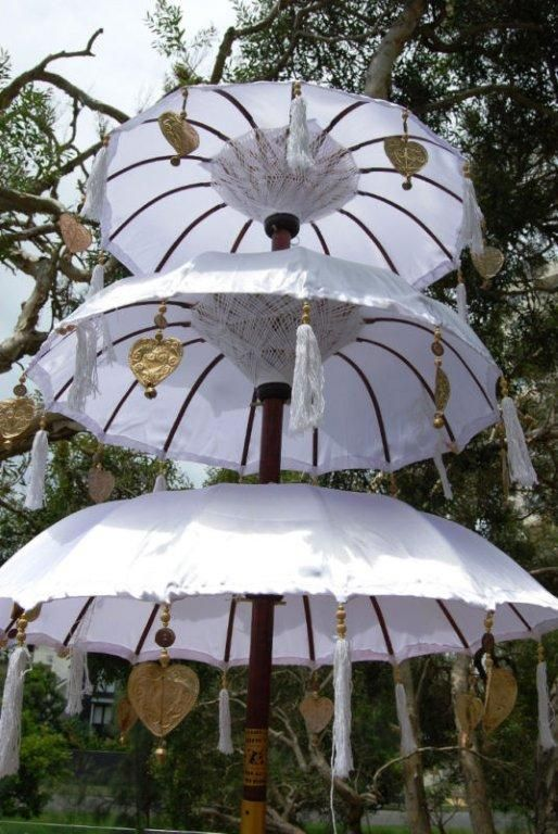 Bali Flags And Umbrellas Available In Any Colour To Match