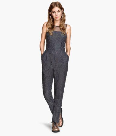 Lace Jumpsuit   H&M US