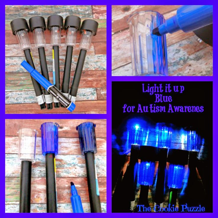 Light it up Blue for Autism Awareness