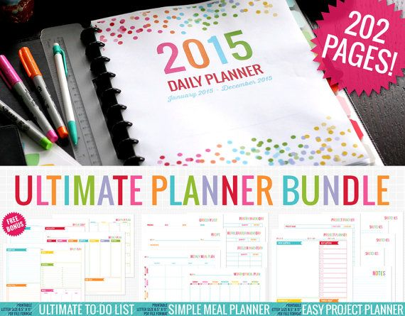 78 best The Nifty Studio on Etsy | Printable Planners and Planner ...