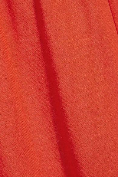 Eres - Zephyr Ankara Cotton-jersey Maxi Dress - Papaya - 2