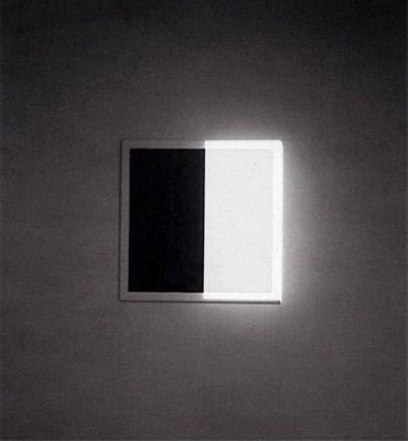 adalberto mecarelli   Lumière, ombre, nitrate d'argent 50 x50 x450 cm circa