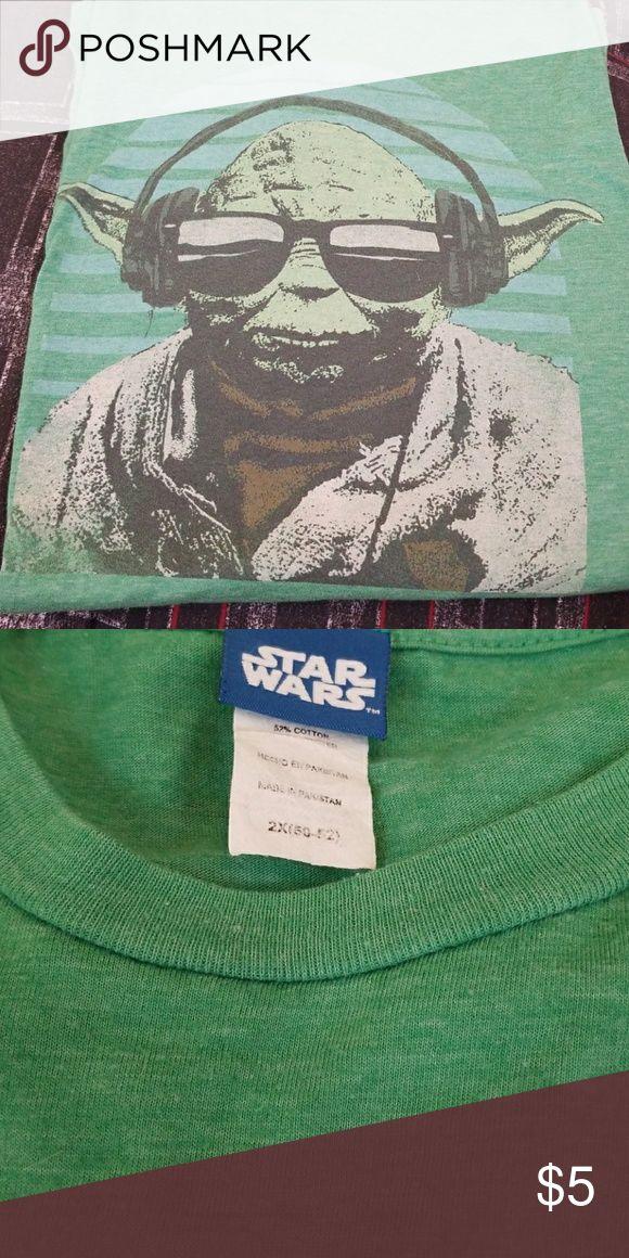Yoda t-shirt Very soft Yoda t-shirt  Worn only a couple of times Tops Tees - Short Sleeve