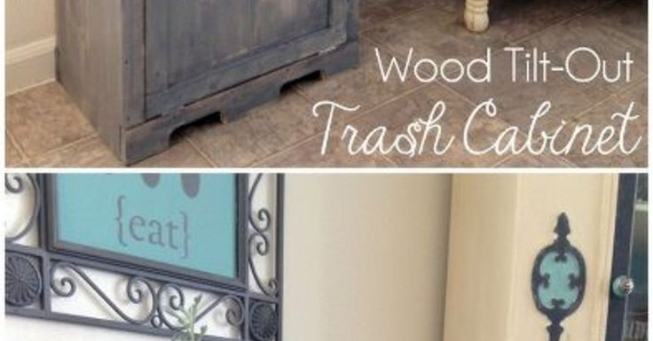 Hide your ugly trash can with this brilliant fix