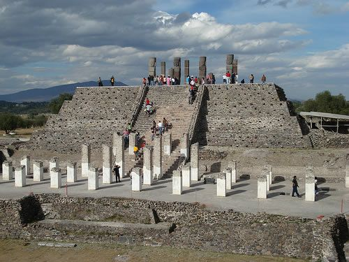 Toltecs Archaeological zone, Tula, Hidalgo, Mexico. been here for a missions trip