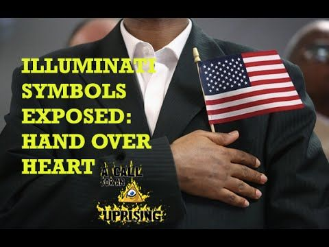 """666-Abode 'of the souls' of the wicked dead, """"Illuminati Symbols Exposed: Hand Over Heart"""""""