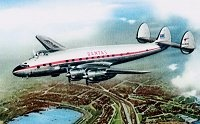 The Lockheed Constellation started service with Qantas in 1947