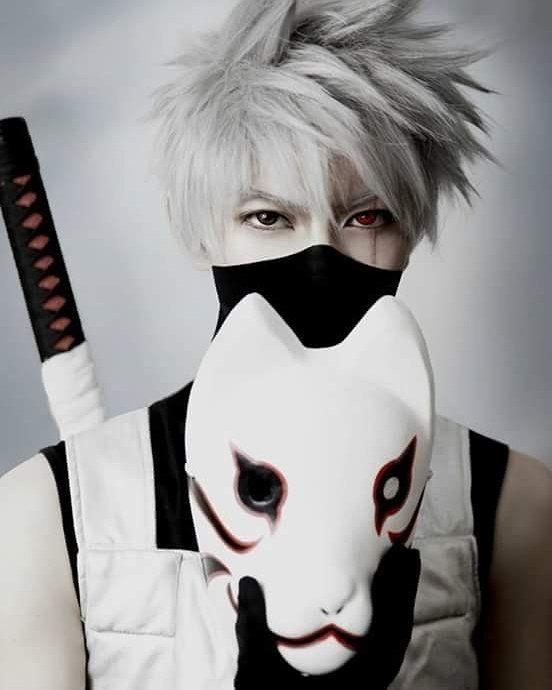 . Anime : Naruto Shippuden Character : Kakashi Hatake Coser : KumaQi . { #anime #animecosplay #narutoshippuden #kakashi #kakashicosplay #kakashihatakecosplay #kakashihatake #kakashianbu } - Cosplay never gets old.