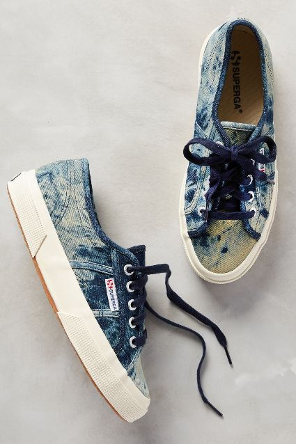 Superga JNSW Sneakers- not usually my fav but love this wash