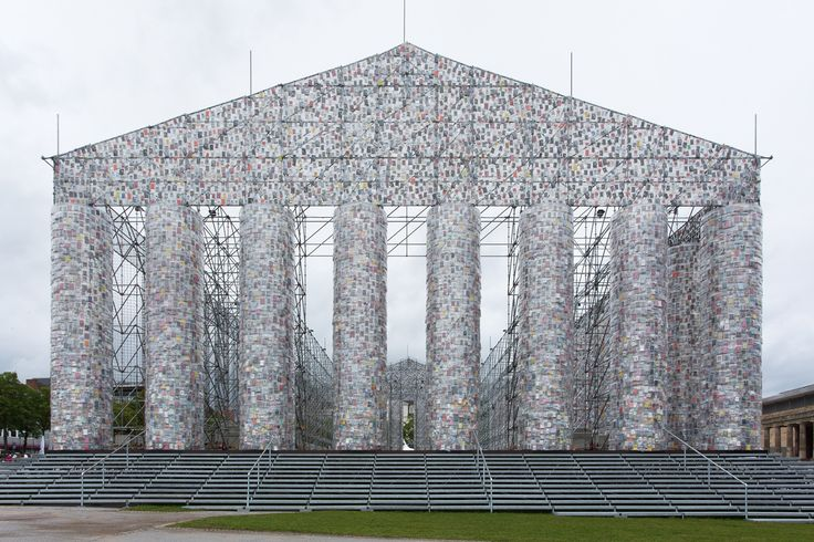 Documenta 14 highlights, including Marta Minujín's The Parthenon of Books. Standing tall in the same site where the Nazis once burned 2000 books, the impressive replica of the Greek temple is made up of banned books from around the world.
