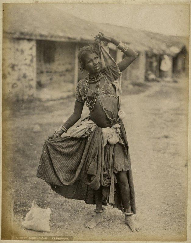 A Gipsy Dancing Girl, Kathiawar.jpg
