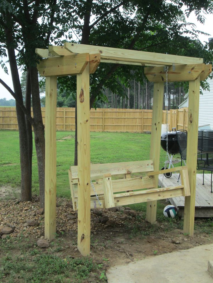 Swing And Arbor Do It Yourself Home Projects From Ana