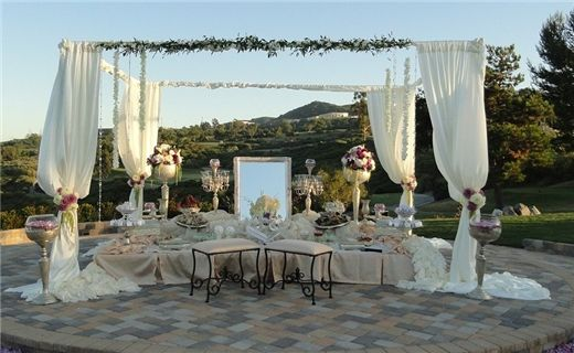 LOVE THIS! Outdoor Persian/Iranian wedding and sofreh aghd spread.