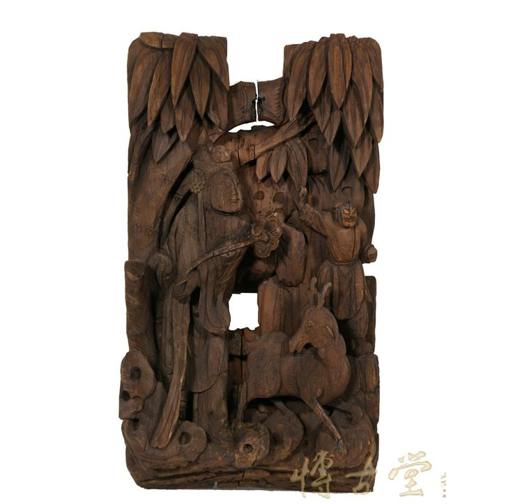 Chinese wood carvings antique d carving