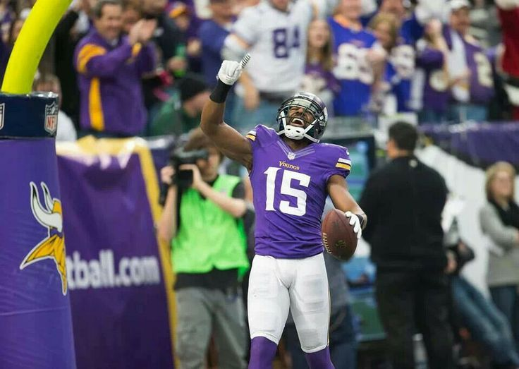 Greg Jennings after catching his touchdown with one of his career high 11 catches against the Eagles on 12/15/13