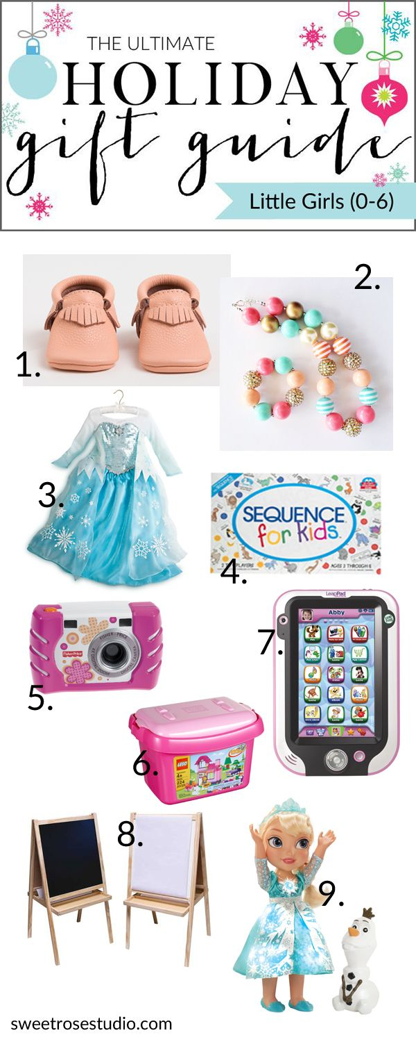 The Ultimate Holiday Gift Guide has over 400 unique gift ideas for everyone and every budget! This guide has you covered for everything a little girl would want: from Frozen items to dress up outfits to digital goodies. Christmas just got easy!