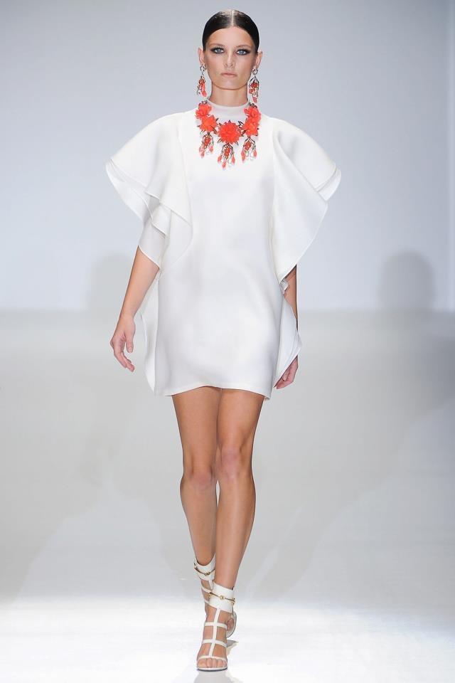 Gucci: Bright Colors and Prints at Milan Fashion Week Spring 2013